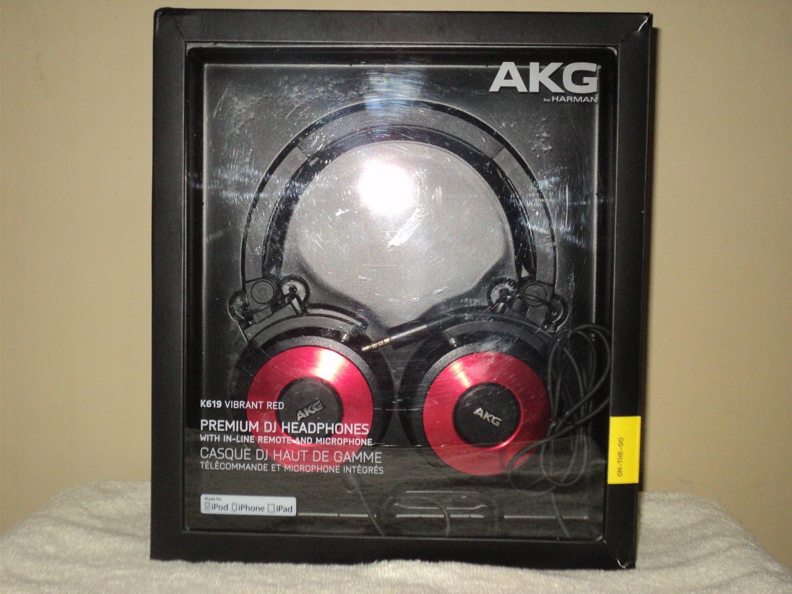 AKG K619 unboxing