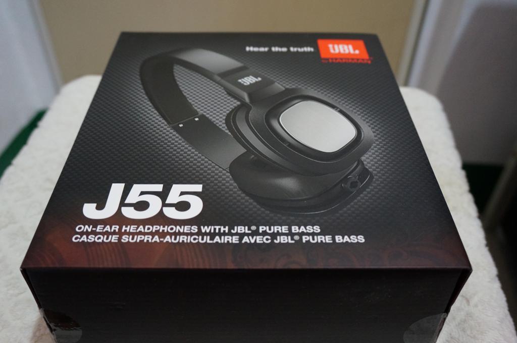 JBL J55 packaging