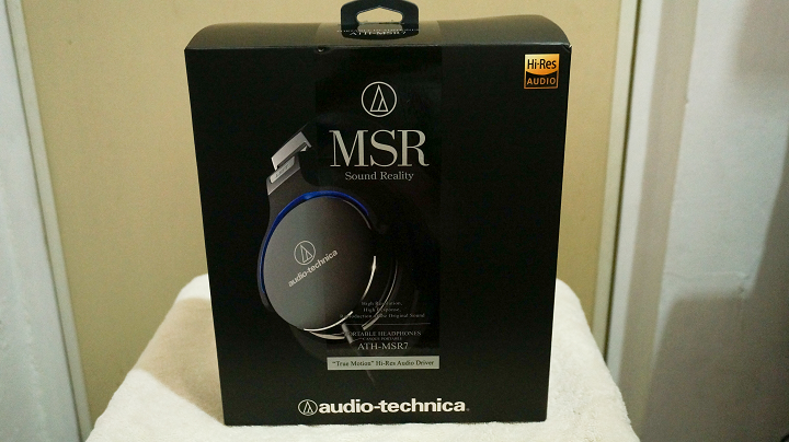 Audio-Technica MSR7 packaging