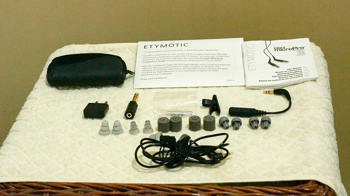 Etymotic ER4PT accessories