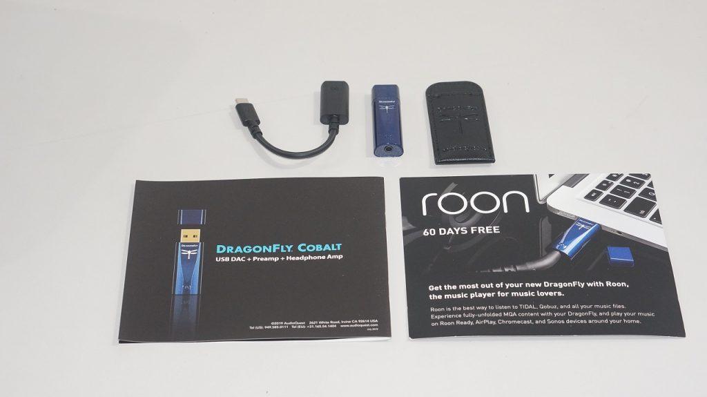 Dragonfly Cobalt accessories