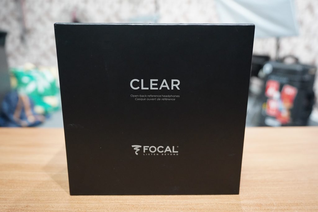 Focal Clear packaging