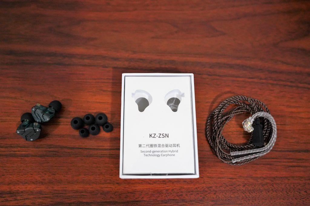KZ ZSN packaging